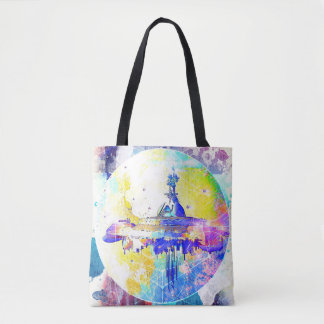 Phate-Derelict Starships Tote Bag