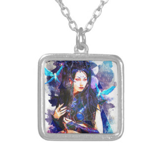 Phate-Shadowlight Elves Silver Plated Necklace