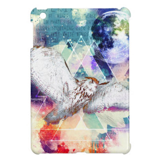 Phate-Vu Verian-The Great White Owl Cover For The iPad Mini