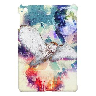 Phate-Vu Verian-The Great White Owl iPad Mini Cover