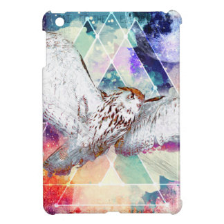 Phate-Vu Verian-The Great White Owl iPad Mini Covers