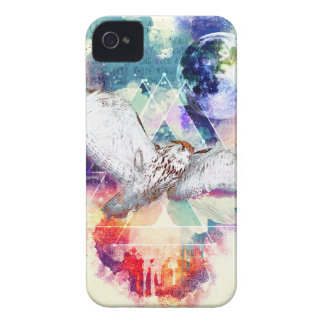 Phate-Vu Verian-The Great White Owl iPhone 4 Cover
