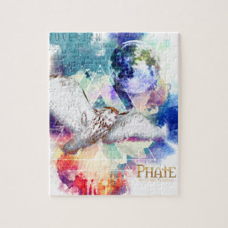 Phate-Vu Verian-The Great White Owl Jigsaw Puzzle