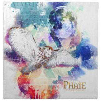 Phate-Vu Verian-The Great White Owl Napkin