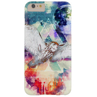 Phate-Vu Verian-The Great White Owl-Print Barely There iPhone 6 Plus Case