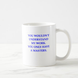 phd coffee mug