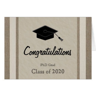 PhD Graduation Card