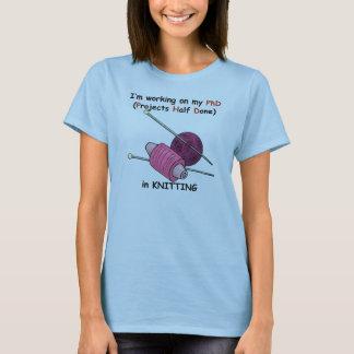 PhD in Knitting T-Shirt