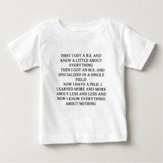 PHD joke Baby T-Shirt