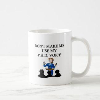 PHD voice Coffee Mug