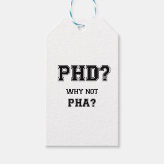 PhD? Why not PhA? High expectations Asian Father Gift Tags