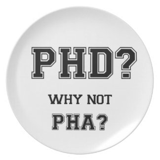 PhD? Why not PhA? High expectations Asian Father Party Plates