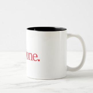 PhDone Red Two-Tone Coffee Mug