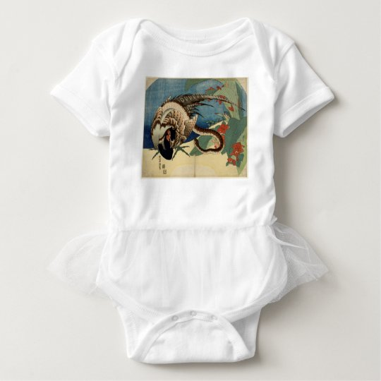 Pheasant and the Snake Baby Bodysuit