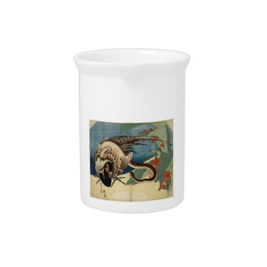 Pheasant and the Snake Beverage Pitcher