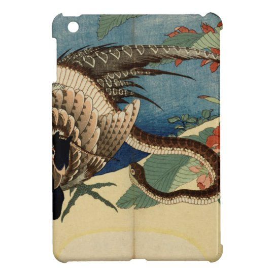 Pheasant and the Snake iPad Mini Cover