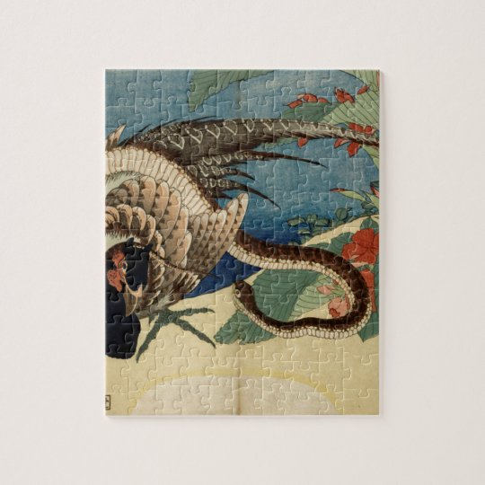 Pheasant and the Snake Jigsaw Puzzle