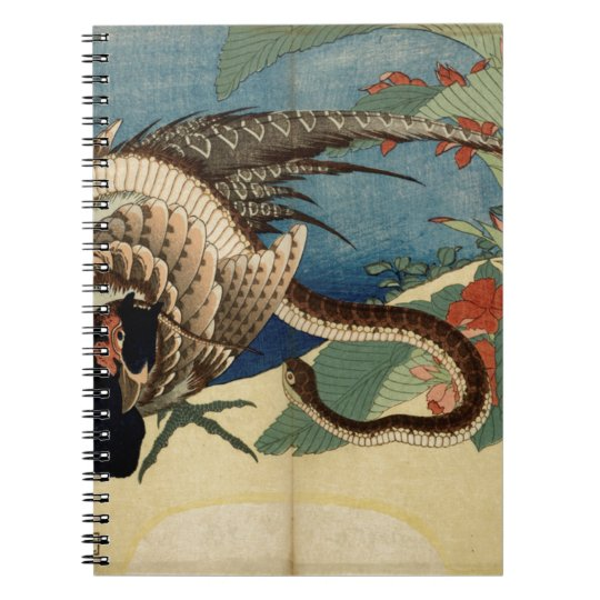 Pheasant and the Snake Notebook