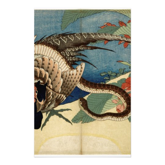 Pheasant and the Snake Stationery