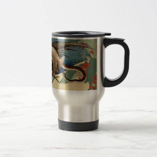 Pheasant and the Snake Travel Mug
