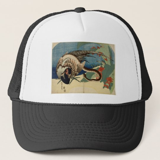 Pheasant and the Snake Trucker Hat