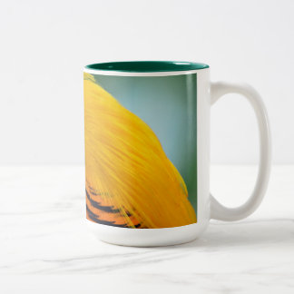 Pheasant as cup