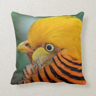Pheasant as Dekokissen Throw Pillow