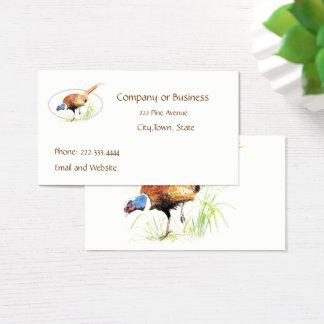 Pheasant, Bird, Nature, Environment, Business Card