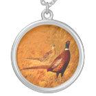 Pheasant Bird Nature Wildlife Necklace