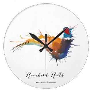 Pheasant Clock