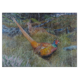 pheasant in woodland art boards