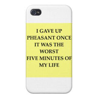 PHEASANT jpg iPhone 4 Covers