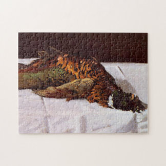 Pheasant Monet Fine Art Jigsaw Puzzle