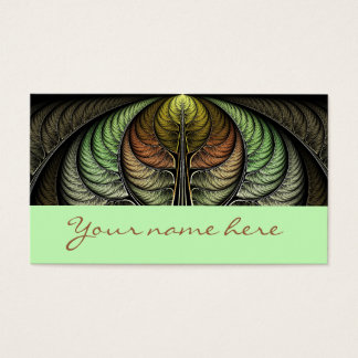 Pheasant Plumage Business Card