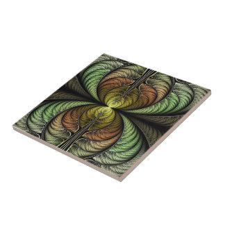 Pheasant Plumage Ceramic Tile