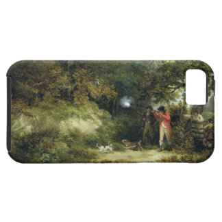 Pheasant Shooting (oil on canvas) 3 iPhone 5 Cover