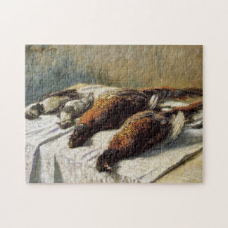 Pheasants and Plovers Monet Fine Art Jigsaw Puzzle