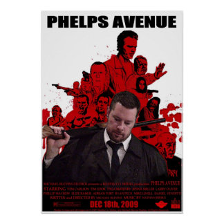Phelps Avenue Poster