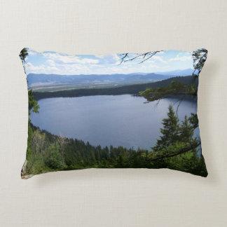 Phelps Lake at Grand Teton National Park Accent Pillow