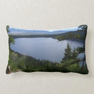 Phelps Lake at Grand Teton National Park Lumbar Pillow