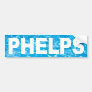 Phelps Sticker Bumper Sticker