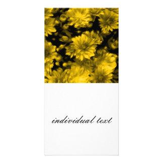 phenomenal blossoms yellow (I) Photo Card Template