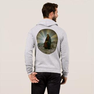 Phenomenal Men's Full-Zip Hoodie In Jesus Design