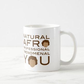 Phénoménal professionnel d'Afro naturel vous tasse