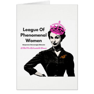 Phenomenal Woman Card