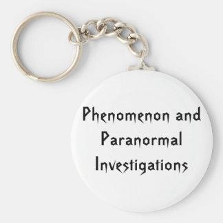 Phenomenon and Paranormal Investigations Keychain