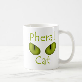 Pheral Cat (Olive Eyes) Classic White Coffee Mug