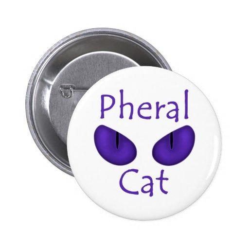 Pheral Cat (Purple Eyes) Pins