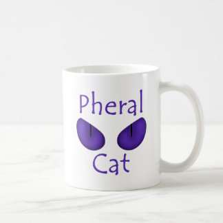 Pheral Cat (Purple Eyes) Classic White Coffee Mug
