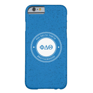 Phi Delta Theta | Badge Barely There iPhone 6 Case